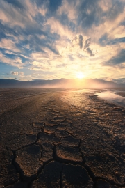 Salt Flats Mudcracks