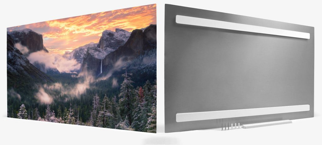 Tunnel View at Yosemite National Park on ChromaLuxe Aluminum, by Jeremy Vesely Photography